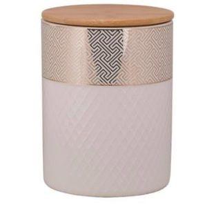 💕HP💕Geometric print porcelain canister